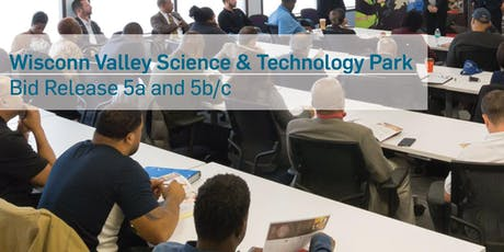 Wisconn Valley Science & Technology Park Phase 1, Area 1 Pre-bid and Matchmaking Session - Bid Package 5a and 5b/c tickets