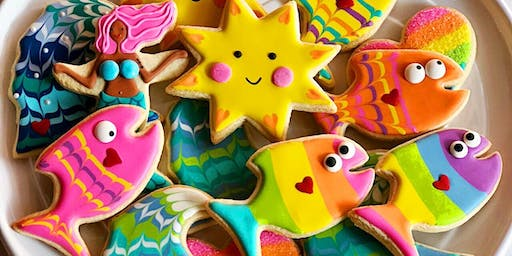 Summer Lovin' Cookie Decorating Workshop with Sweet Dani B at the Asbury Pa