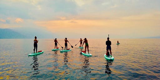 Paddle Surf Yoga in Ibiza