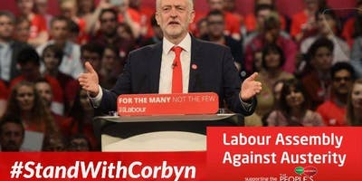 Hackney Stands With Corbyn - Unite to End Tory Austerity