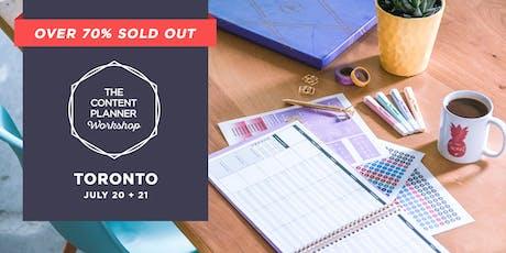 The Content Planner Workshop - Toronto tickets