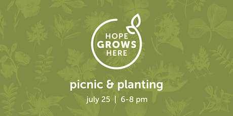 Picnic & Planting: A Party for the Healing Garden tickets