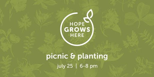 Picnic & Planting: A Party for the Healing Garden
