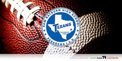 Sam Rayburn vs Memorial Varsity Football