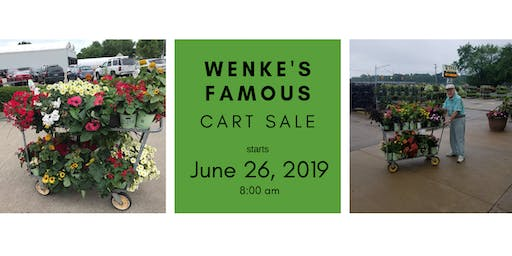 Wenke's Famous Cart Sale