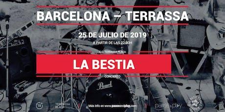 Concierto La Bestia Band en Pause&Play Terrassa Plaça entradas