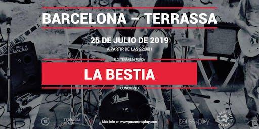 Concierto La Bestia Band en Pause&Play Terrassa Plaça