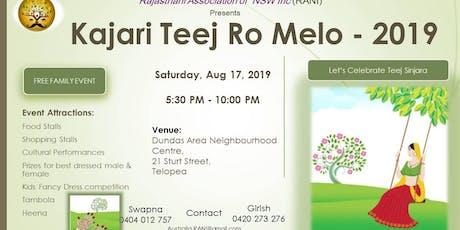 Kajari Teej Ro Melo 2019 tickets