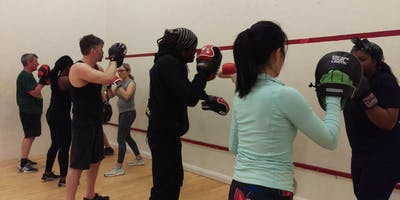 """""""Thaiercise"""" Kickboxing classes with Winston Fraser * ALL levels welcome *"""