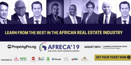 African Real Estate Conference & Awards - AFRECA 2019 tickets
