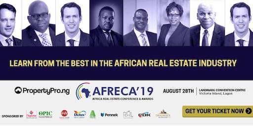 African Real Estate Conference & Awards - AFRECA 2019