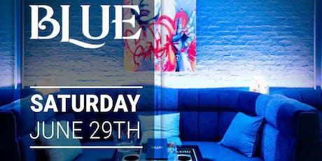 Saturdays at Blue tickets