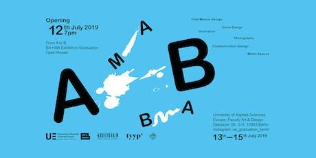 Graduenten Ausstellung Berlin: From A – B tickets