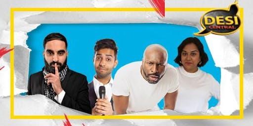 Desi Central Comedy Show : Birmingham