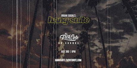 Hang Suite tickets