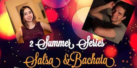 Fridays Intro to Salsa w/ Eric 8:30-9:30PM, Bachata w/ Carolina 7:30-8:30PM tickets