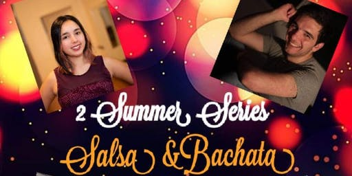 Fridays Intro to Salsa w/ Eric 8:30-9:30PM, Bachata w/ Carolina 7:30-8:30PM