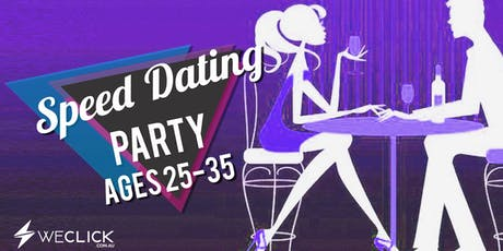 Speed Dating & Singles Party | ages 25-35 | Melbourne tickets