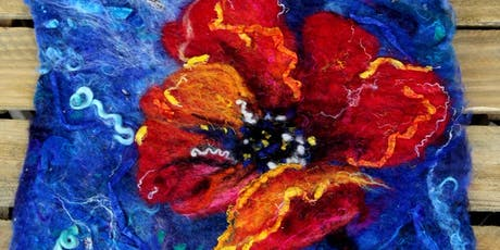 Felt pictures for beginners - half day. tickets