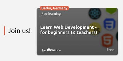 Learn Web Development -  for beginners (& teachers)
