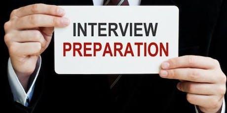 Interview Preparatory Workshop: FINP 2019-2020  tickets
