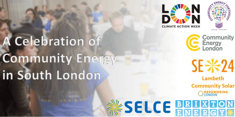 A celebration of Community Energy in South London-one solution for the Climate Emergency tickets