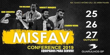 MISFAV Conference 2019 ingressos