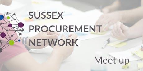 Sussex Procurement Network Meet-Up  tickets
