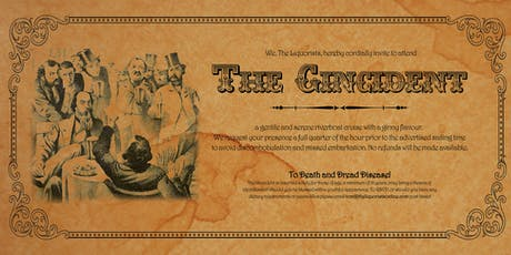 (5/50 Left)'The Gincident' Gin Cocktail Cruise - 1pm (The Liquorists) tickets