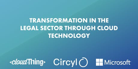 Transformation In The Legal Sector Through Cloud Technology tickets