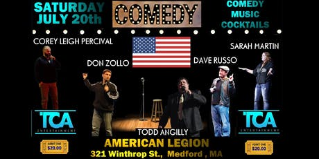 TCA Comedy @ American Legion tickets