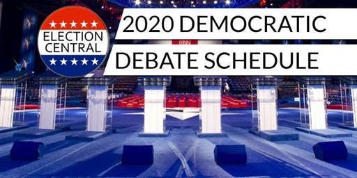 Livestream Watch Party of 2020 Democratic Debate 1