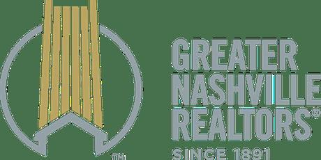 2019 Greater Nashville REALTORS®  Past Presidents Luncheon tickets