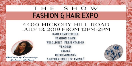 THE SHOW: FASHION & HAIR EXPO tickets
