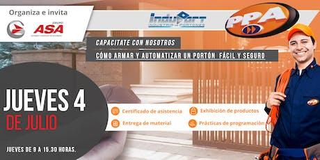 Cómo armar y automatizar un portón  fácil y seguro / Rosario entradas