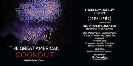 Capella On 9's Great American Cookout tickets