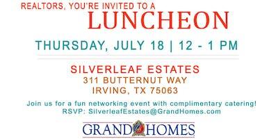 Realtor Lunch at Silverleaf Estates