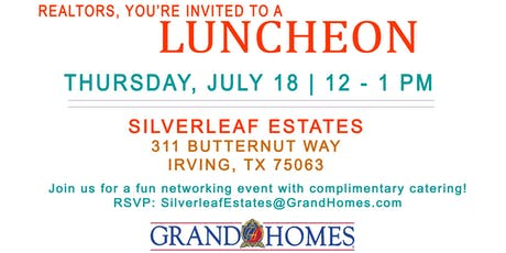 Realtor Lunch at Silverleaf Estates tickets