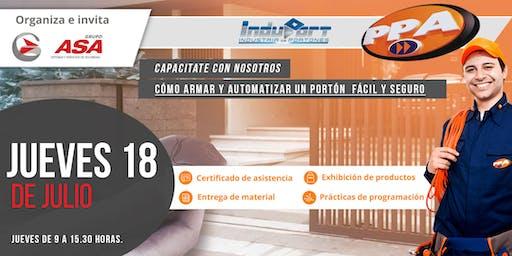 Cómo armar y automatizar un portón  fácil y seguro / Rosario / 18-7