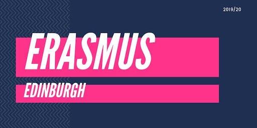 Edinburgh Erasmus Welcome Party 2019