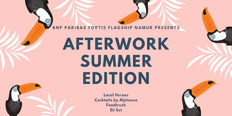 Afterwork - Summer Edition - Local Heroes @Flagship Namur  tickets