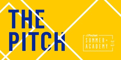 Summer Academy 2019: The Pitch