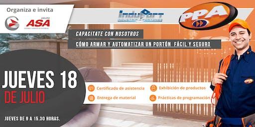 Cómo armar y automatizar un portón  fácil y seguro / Gratuito/ Godoy Cruz.