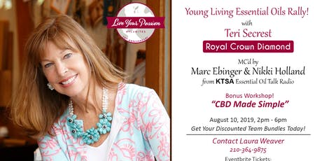 Young Living Rally and Essential Oil Expo in San Antonio tickets