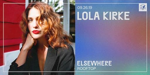 Lola Kirke @ Elsewhere (Rooftop)