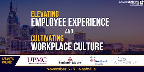 Elevating Employee Experience & Cultivating Workplace Culture tickets