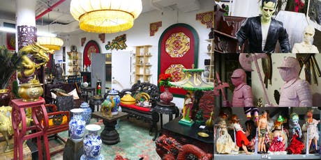 Behind-the-Scenes @ Eclectic Props, Largest NYC TV/Film Prop Rental Company tickets