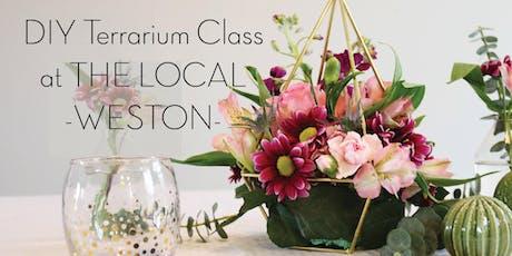 DIY Terrarium Class tickets