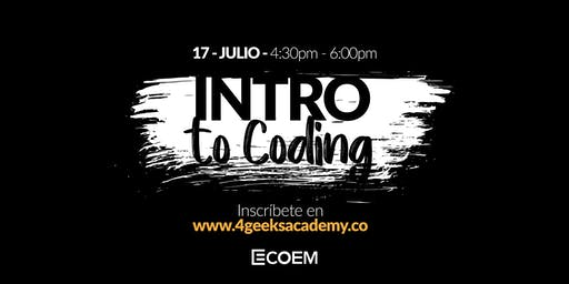 Intro to Coding   4Geeks Academy Venezuela
