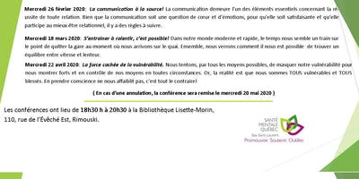 SMQ-BSL :Conférence populaire: S\